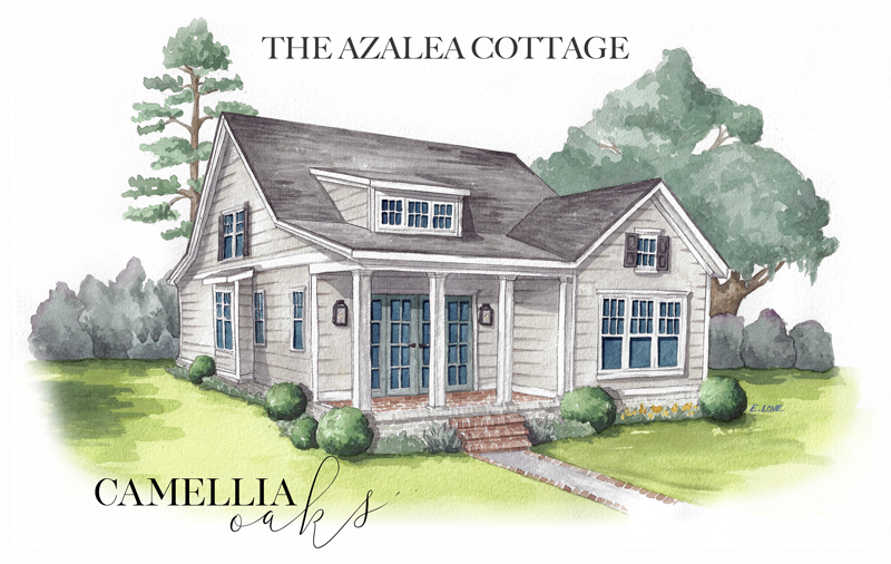 C.O.-COTTAGE-B-2-AZALEA-WATERCOLOR-RENDER