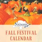 The Ultimate Fall Festival Calendar